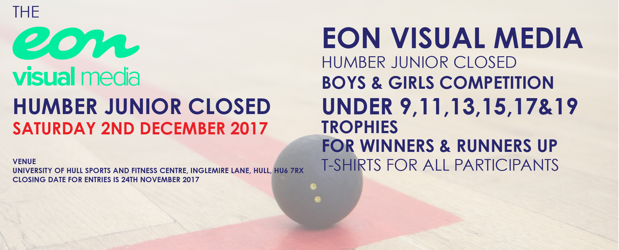 EON MEDIA HUMBER JUNIOR CLOSED EVENT 2017