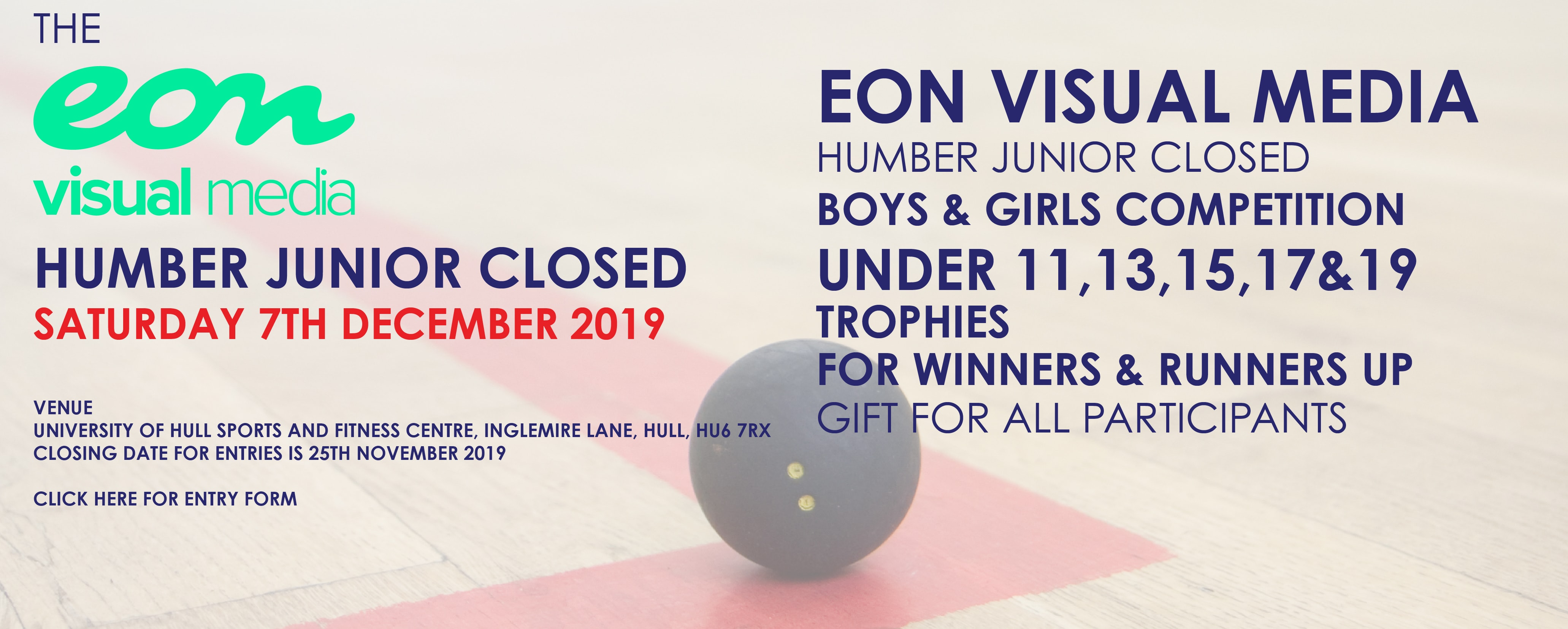 The Eon Visual Media Humber Junior Closed 2019
