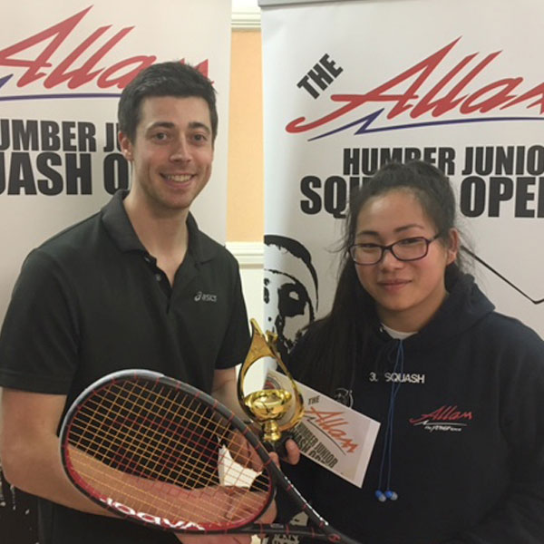 ALLAM HUMBER JUNIOR OPEN 2016 - BRONZE EVENT