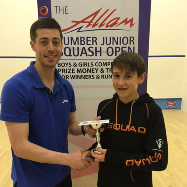 THE ALLAM HUMBER JUNIOR OPEN - SILVER EVENT 2016